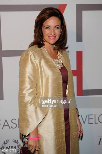 Michelle Muscat attends Fashion 4 Development's 6th Annual Official First Ladies Luncheon at The Pierre Hotel on September 21 2016 in New York City