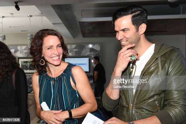 Michelle Nolden and Benjamin Ayres attend NKPR IT House x Producers Ball With Nylon Magazine and Coveteur Portrait Studios Day 1 on September 7 2017...