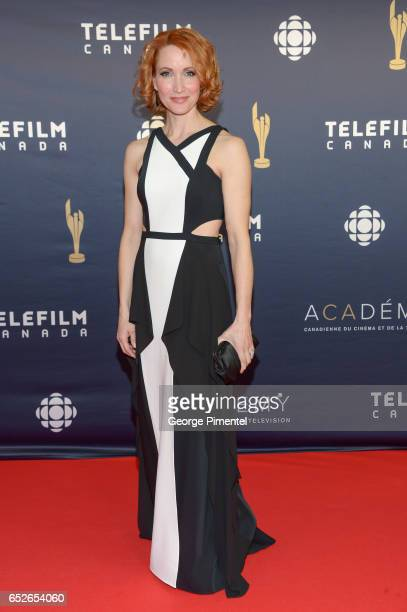 Michelle Nolden attends 2017 Canadian Screen Awards at Sony Centre For Performing Arts on March 12 2017 in Toronto Canada