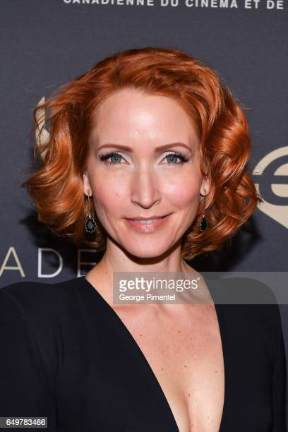Michelle Nolden attends the 2017 Canadian Screen Awards Creative Fiction Gala at Westin Harbour Castle Hotel on March 8 2017 in Toronto Canada