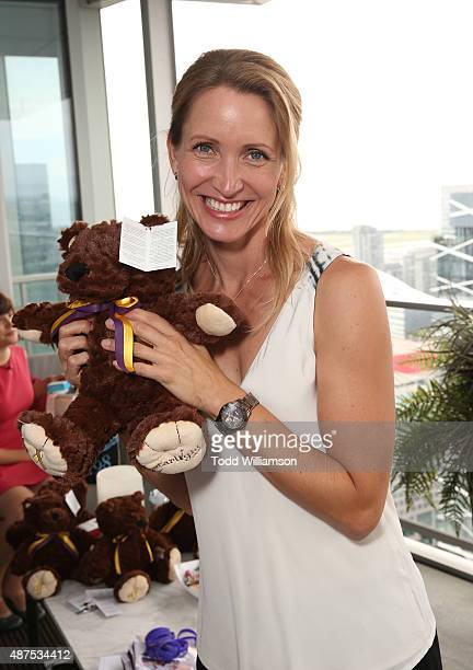 Michelle Nolden attends the 7th Annual BaskItStyle TIFF Media Day On Wednesday September 9 Held At The Private Estates Above The ShangriLa Hotel on...