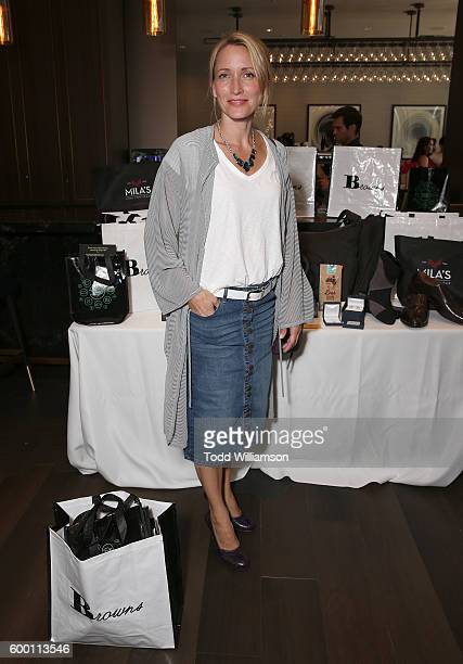 Michelle Nolden attends the 8th Annual BaskItStyle Media Day At The Thompson Hotel By GLO Communications on September 7 2016 in Toronto Canada