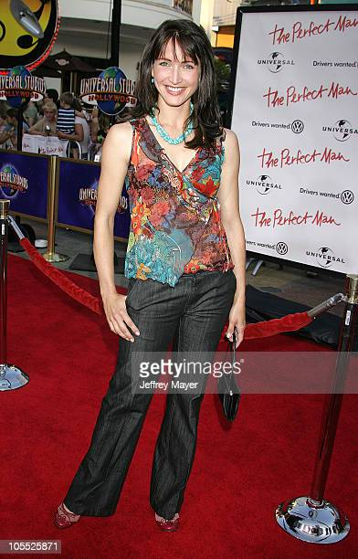 Michelle Nolden during The Perfect Man Los Angeles Premiere Arrivals at Universal Studios Cinema at City Walk in Universal City California United...