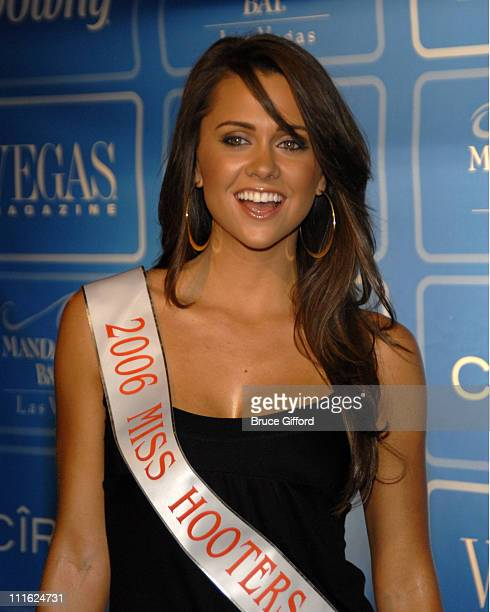 Michelle Nunez Miss Hooters 2006 during Vegas Magazine Fourth Anniversary Party at Mandalay Bay Hotel and Casino in Las Vegas Nevada United States