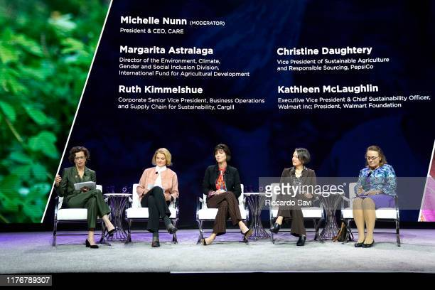 Michelle Nunn President CEO Care USA Christine Daugherty VP Sustainable Agriculture Responsible Sourcing Pepsico Ruth Kimmelshue Senior Vice...