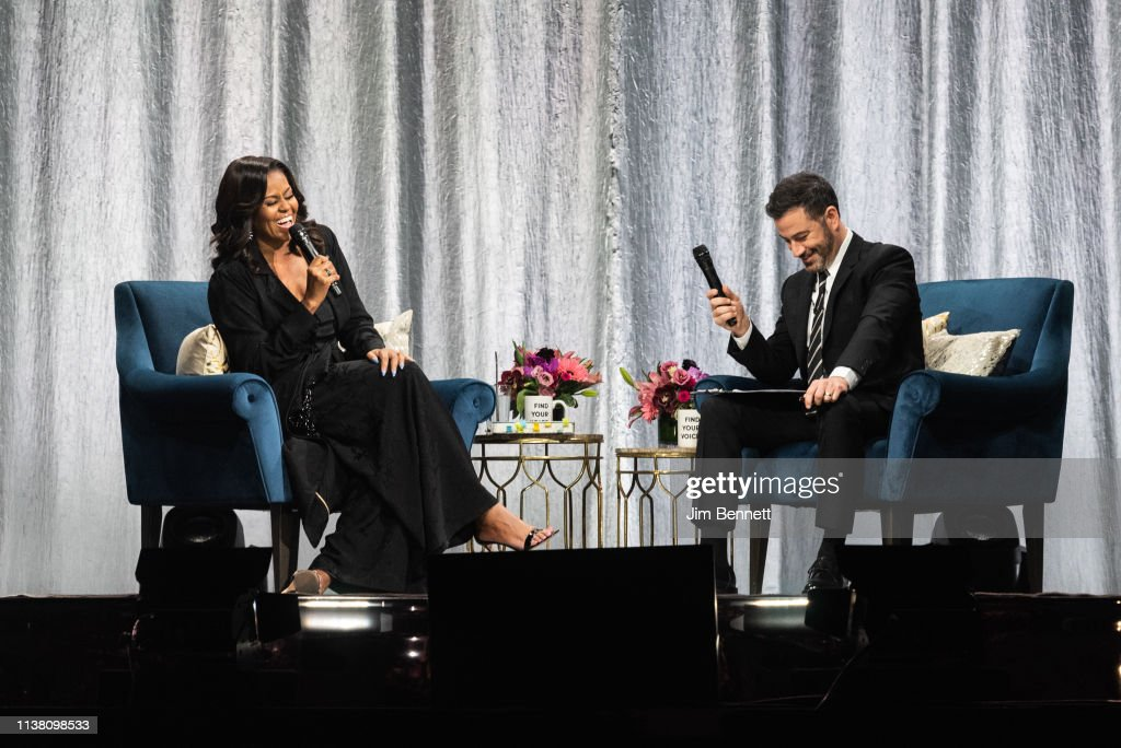 WA: Becoming: An Intimate Conversation with Michelle Obama