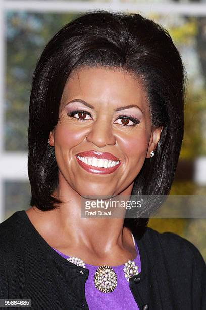 Michelle Obama,The US First Lady waxwork is unveiled and will join her husband US President, Barack Obama in the setting of The Oval Office at Madame...