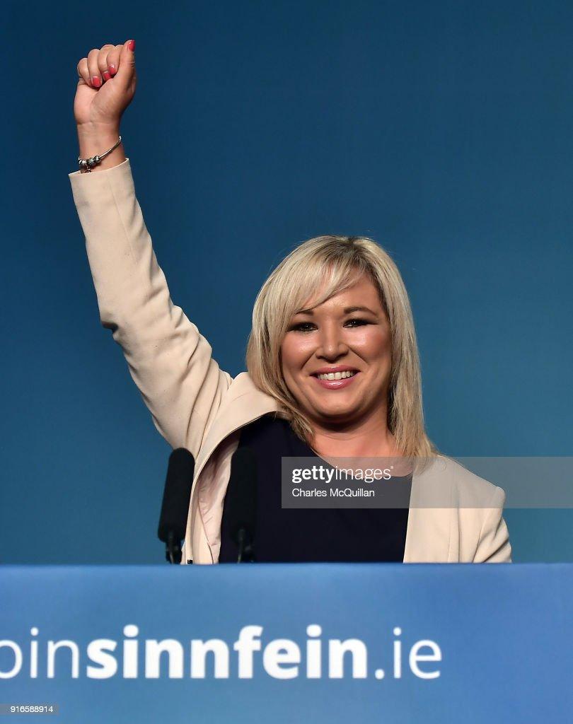 Sinn Fein Ard Fheis Elect Their New President