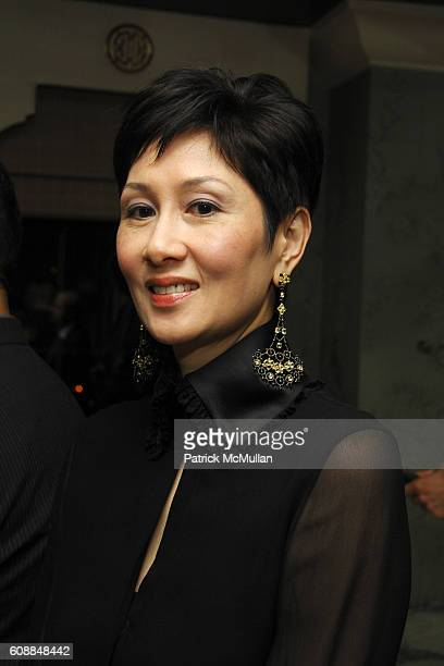 Michelle Ong attends BERGDORF GOODMAN and MICHELLE ONG Host the Premiere of Her Jewelry Collection CARNET at Bergdorf Goodman on October 10 2007 in...