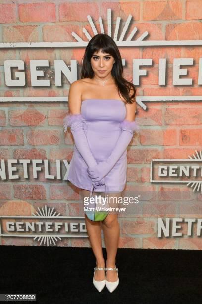 Michelle Ortiz attends the premiere of Netflix's Gentefied at Plaza de la Raza on February 20 2020 in Los Angeles California