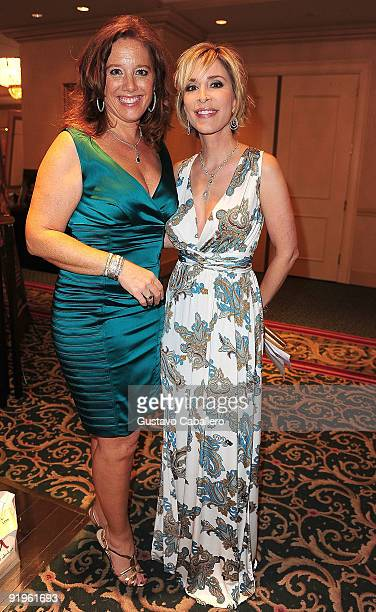Michelle Payer and Lynn Martinez attend the First Annual Friends of the Orphans Gala at JW Marriott on October 16 2009 in Miami Florida