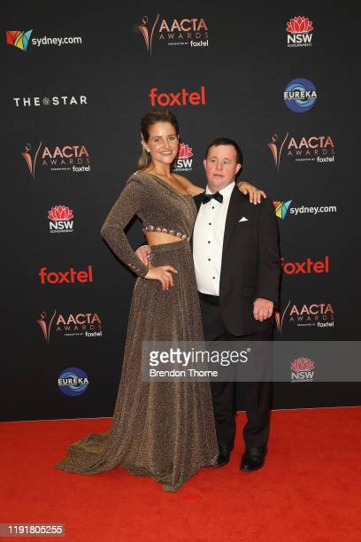 Michelle Payne and Stevie Payne attend the 2019 AACTA Awards Presented by Foxtel at The Star on December 04 2019 in Sydney Australia
