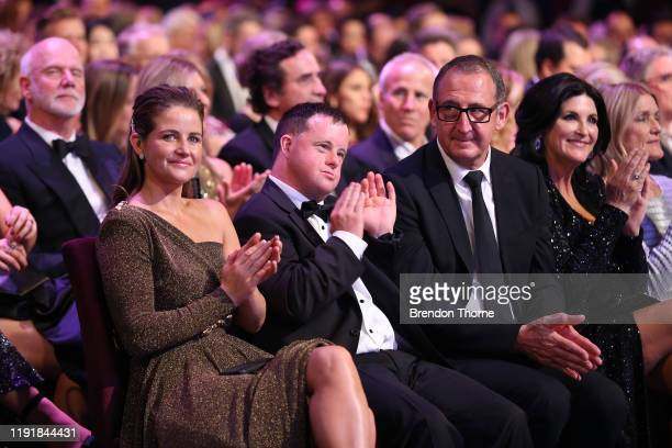 Michelle Payne and Stevie Payne during the 2019 AACTA Awards Presented by Foxtel at The Star on December 04 2019 in Sydney Australia