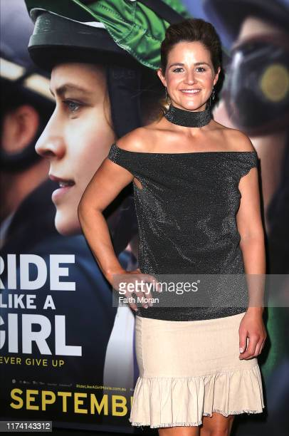 Michelle Payne attends a screening of RIDE LIKE A GIRL at Event Cinemas Innaloo on September 12 2019 in Perth Australia