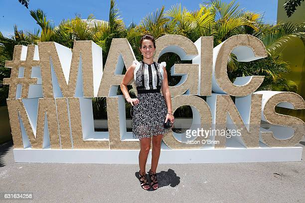 Michelle Payne attends the Magic Millions Raceday on January 14 2017 in Gold Coast Australia