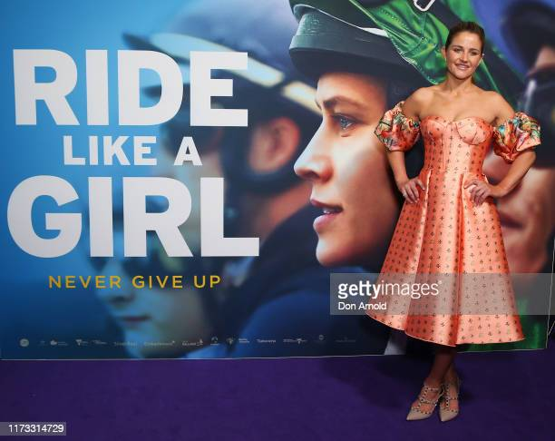 Michelle Payne attends the world premiere of RIDE LIKE A GIRL at Cremorne Orpheum on September 09, 2019 in Sydney, Australia.