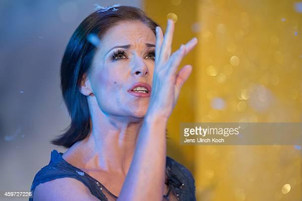 Michelle performs during the TVShow 'Das Adventsfest der 100000 Lichter' on November 29 2014 in Suhl Germany