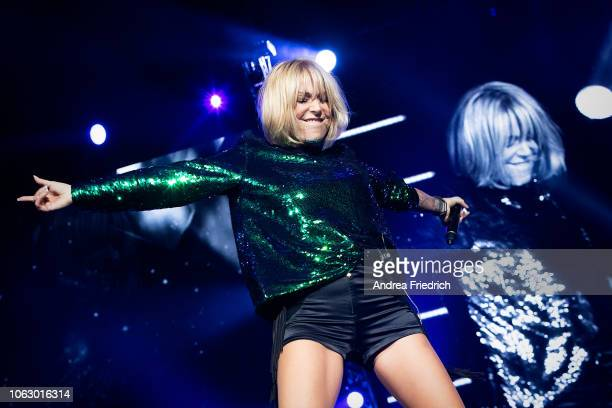 Michelle performs live on stage during 'Die Schlagernacht des Jahres' at the MercedesBenz Arena Berlin on November 17 2018 in Berlin Germany