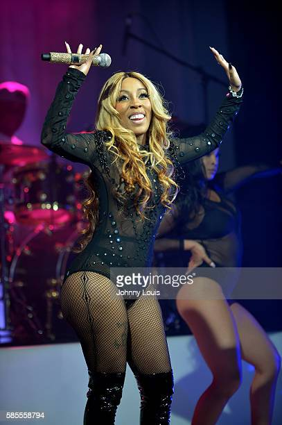 K Michelle performs onstage at Revolution Live on August 2 2016 in Fort Lauderdale Florida
