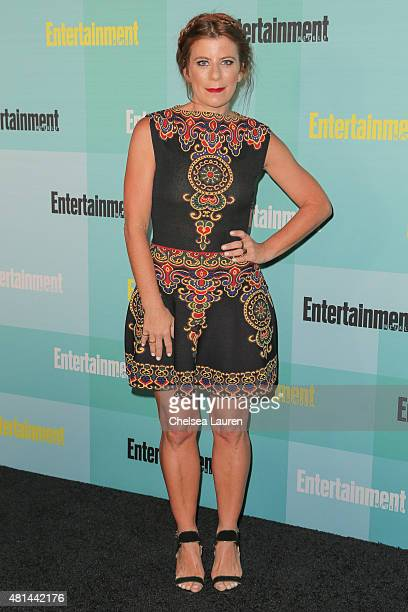Michelle Pesce arrives at the Entertainment Weekly celebration at Float at Hard Rock Hotel San Diego on July 11 2015 in San Diego California