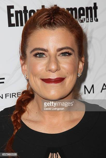 Michelle Pesce arrives at the Entertainment Weekly celebration honoring nominees for The Screen Actors Guild Awards at the Chateau Marmont on January...
