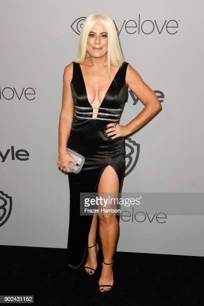 Michelle Pesce attends 19th Annual PostGolden Globes Party hosted by Warner Bros Pictures and InStyle at The Beverly Hilton Hotel on January 7 2018...