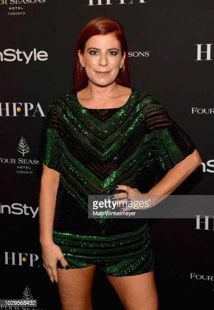 Michelle Pesce attends 2018 HFPA and InStyle's TIFF Celebration at the Four Seasons Hotel on September 8 2018 in Toronto Canada