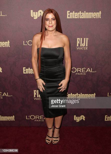 Michelle Pesce attends FIJI Water at Entertainment Weekly PreEmmy Party on September 15 2018 in Los Angeles California