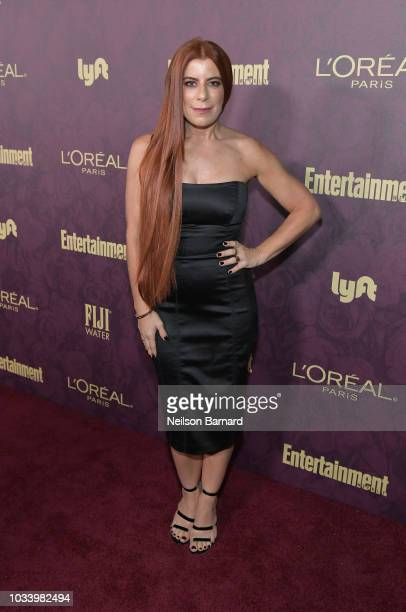 Michelle Pesce attends the 2018 PreEmmy Party hosted by Entertainment Weekly and L'Oreal Paris at Sunset Tower on September 15 2018 in Los Angeles...