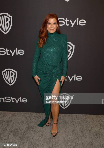 Michelle Pesce attends the 2019 InStyle and Warner Bros 76th Annual Golden Globe Awards PostParty at The Beverly Hilton Hotel on January 6 2019 in...