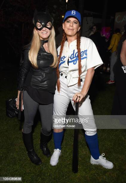Michelle Pesce attends the Casamigos Halloween Party on October 26 2018 in Beverly Hills California