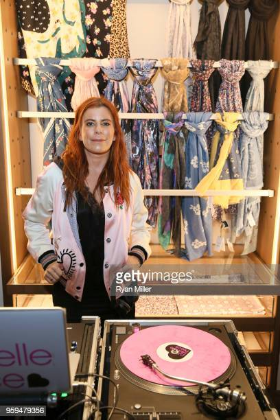 Michelle Pesce attends the Disney x Coach Collection and PopUp Launch at South Coast Plaza on May 15 2018 in Costa Mesa California