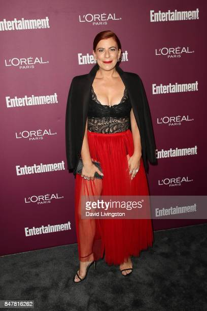 Michelle Pesce attends the Entertainment Weekly's 2017 PreEmmy Party at the Sunset Tower Hotel on September 15 2017 in West Hollywood California