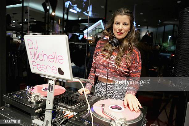 Michelle Pesce attends the HM Isabel Marant VIP Pre Shop Event at HM on November 12 2013 in West Hollywood California