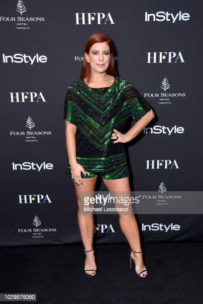 Michelle Pesce attends The Hollywood Foreign Press Association and InStyle Party during 2018 Toronto International Film Festival at Four Seasons...