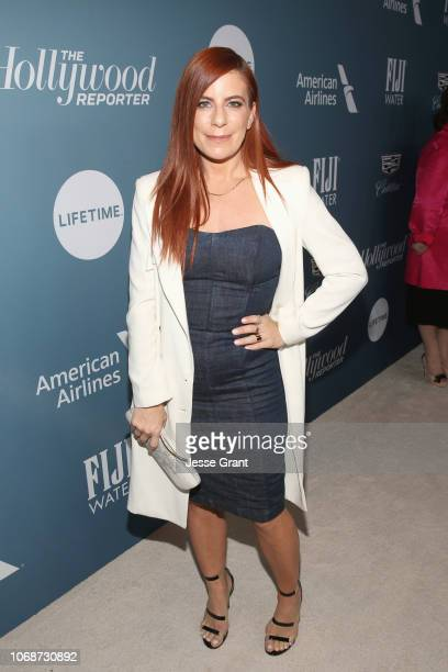 Michelle Pesce attends The Hollywood Reporter's Power 100 Women In Entertainment at Milk Studios on December 5 2018 in Los Angeles California