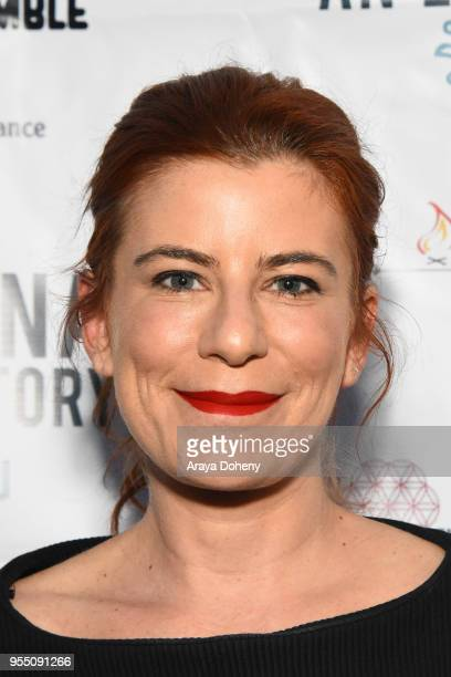 Michelle Pesce attends the Love Bananas An Elephant Story Los Angeles premiere at Laemmle Music Hall on May 4 2018 in Beverly Hills California