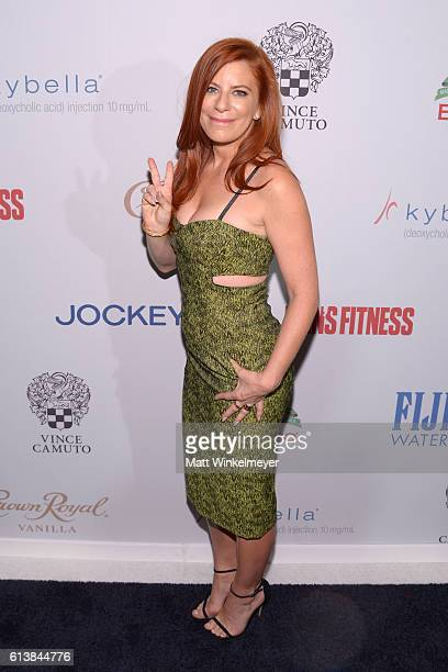 Michelle Pesce attends the Men's Fitness Game Changers Celebration at Sunset Tower Hotel on October 10 2016 in West Hollywood California