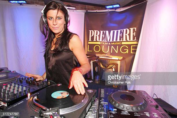 DJ Michelle Pesce during 2006 Sundance Film Festival ICM Agency Party at Premiere Film Music Lounge at Cain Inside Day 1 at Premiere Lounge in Park...