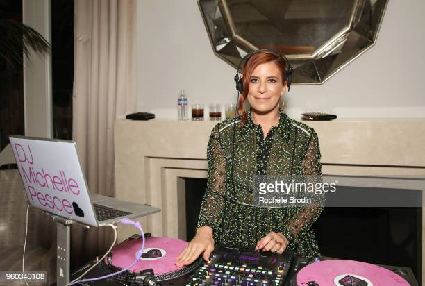 Michelle Pesce performs at The Foundation for Living Beauty Dinner Under the Stars on May 19 2018 in Beverly Hills California