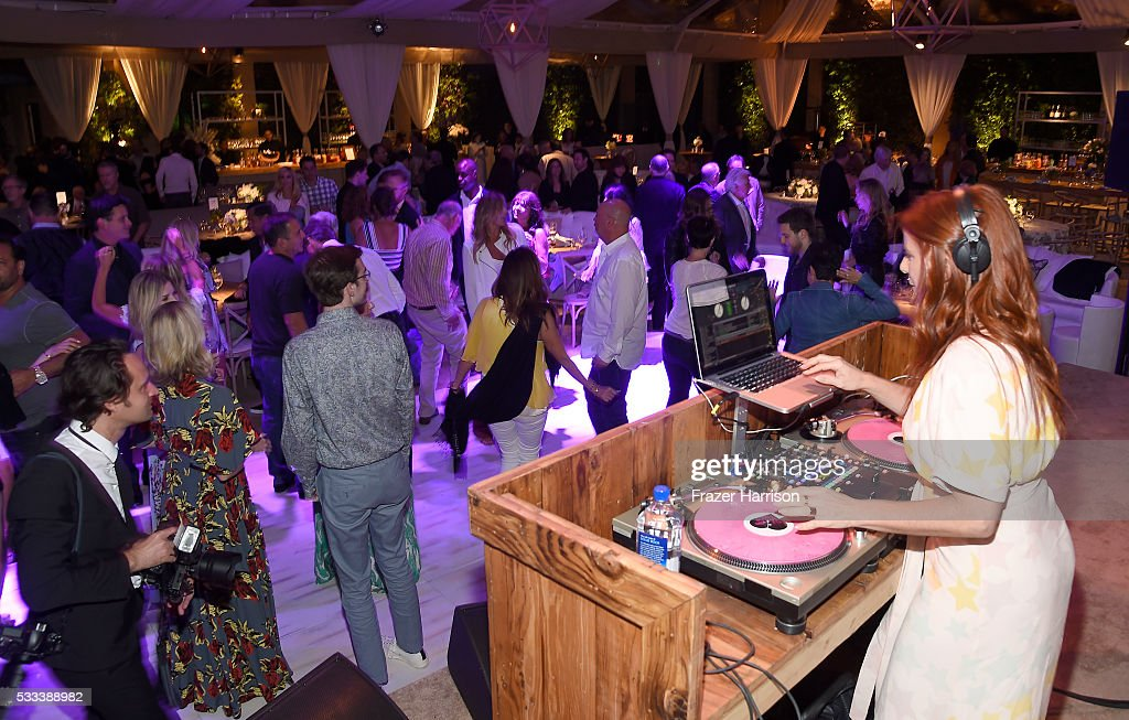 DJ Michelle Pesce performs at The Heart Foundation 20th Anniversary Event honoring Discovery Land Company's Mike Meldman at the Green Acres Estate on May 21, 2016 in Beverly Hills, California.