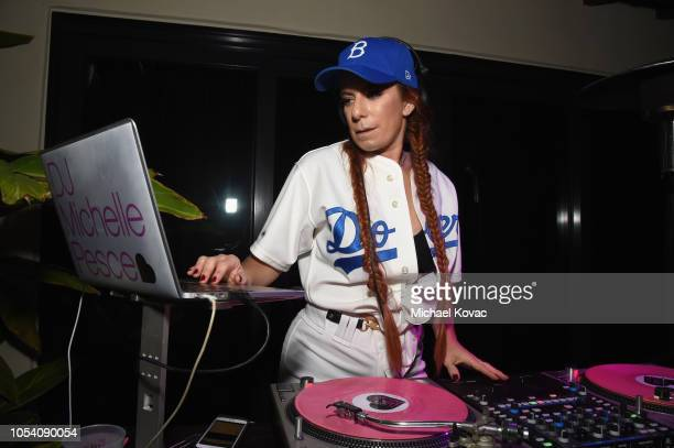 Michelle Pesce performs during the Casamigos Halloween Party on October 26 2018 in Beverly Hills California