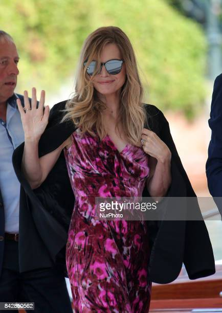 Michelle Pfeiffer arrive at the Hotel Excelsior in Venice Italy on September 5 2017