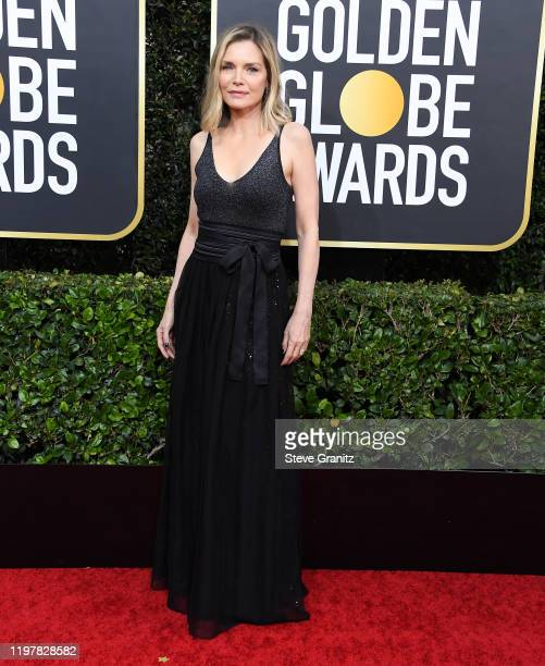 Michelle Pfeiffer arrives at the 77th Annual Golden Globe Awards attends the 77th Annual Golden Globe Awards at The Beverly Hilton Hotel on January...
