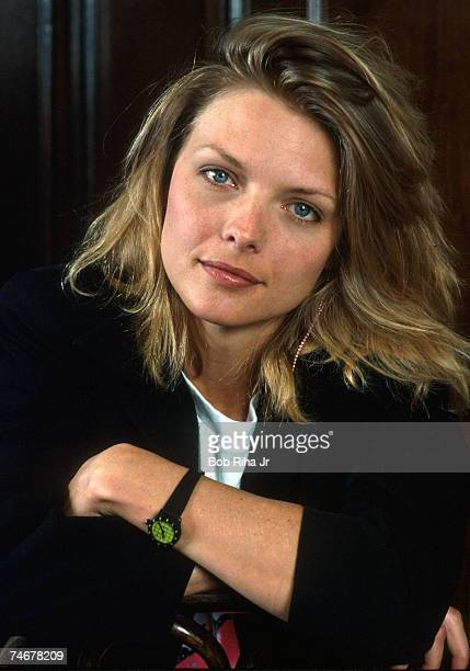 Michelle Pfeiffer at the Actress Michelle Pfieffer in Los Angeles California