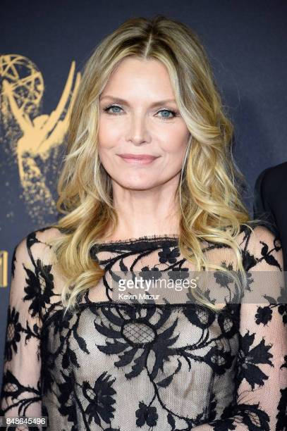 Michelle Pfeiffer attends the 69th Annual Primetime Emmy Awards at Microsoft Theater on September 17 2017 in Los Angeles California