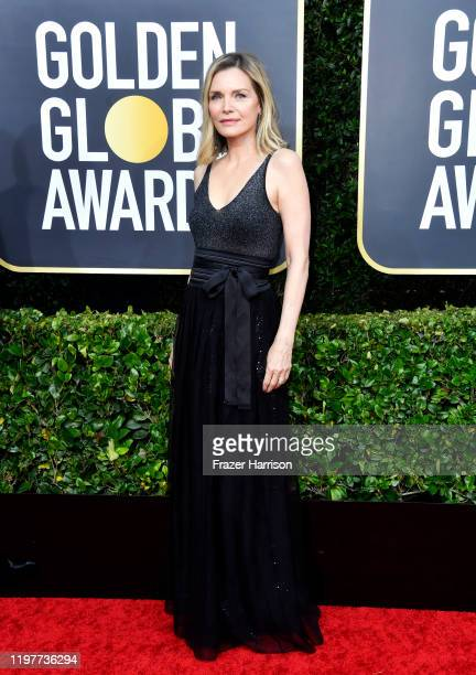 Michelle Pfeiffer attends the 77th Annual Golden Globe Awards at The Beverly Hilton Hotel on January 05, 2020 in Beverly Hills, California.