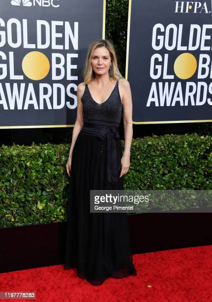 Michelle Pfeiffer attends the 77th Annual Golden Globe Awards at The Beverly Hilton Hotel on January 05 2020 in Beverly Hills California