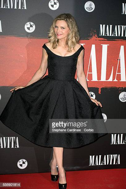 Michelle Pfeiffer attends the 'Malavita' premiere at Europacorp Cinemas at Aeroville Shopping Center in RoissyenFrance France