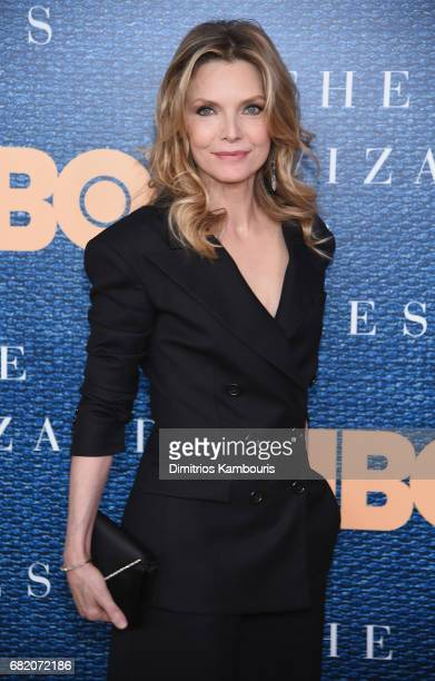 Michelle Pfeiffer attends the 'The Wizard Of Lies' New York Premiere at The Museum of Modern Art on May 11 2017 in New York City